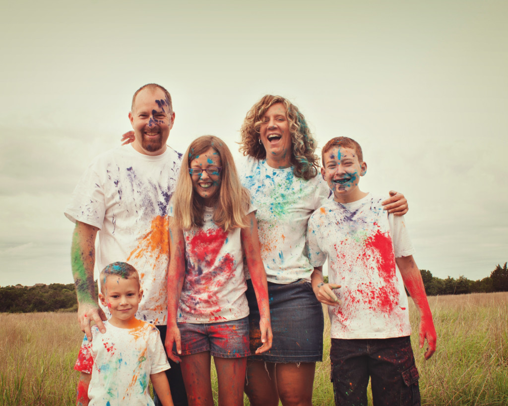 color family fight