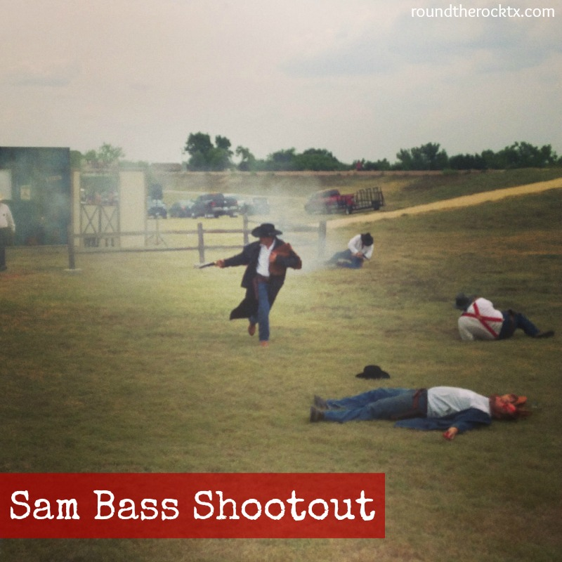 sam bass shootout