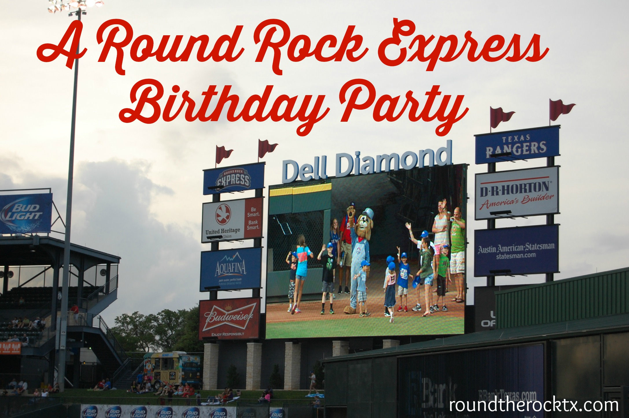 A Round Rock Express Birthday Party