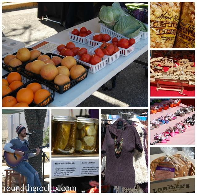 ROund Rock Market Days collage