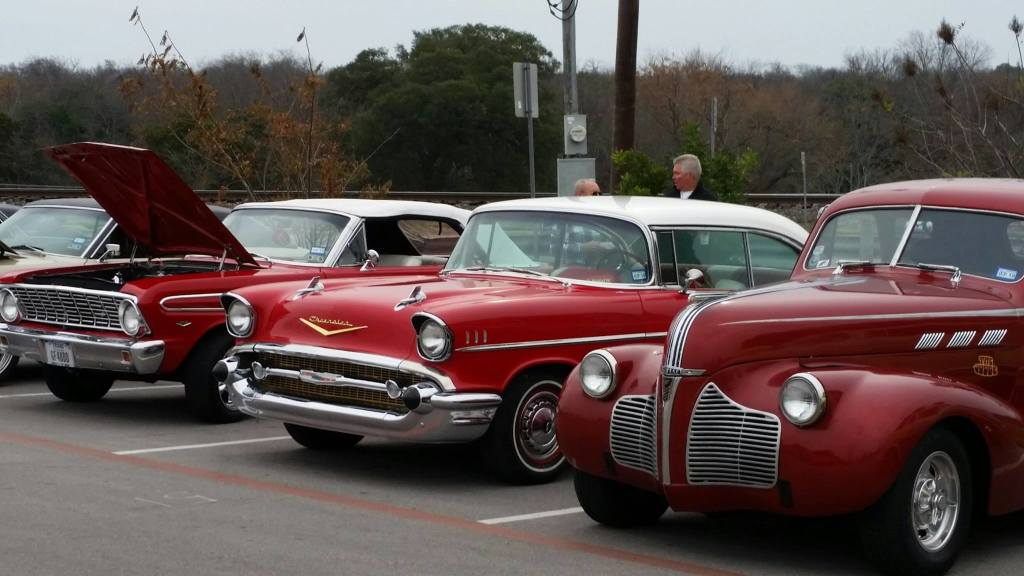 Downtown Round Rock Car Show