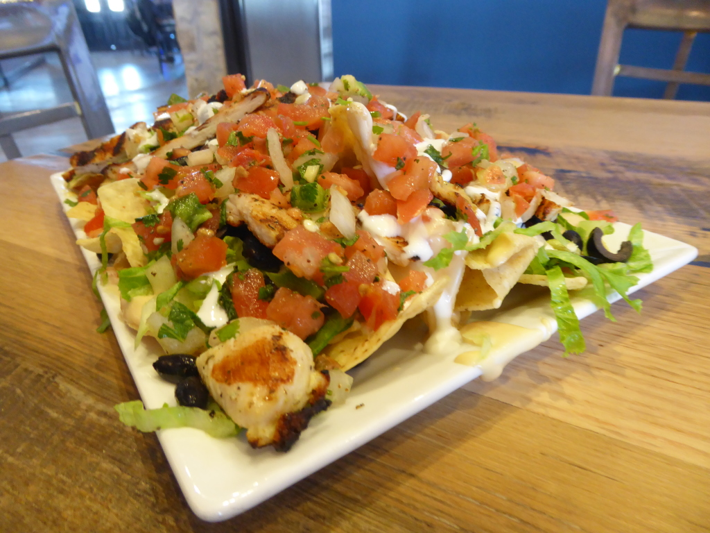 The Rock Sports Bar Nachos