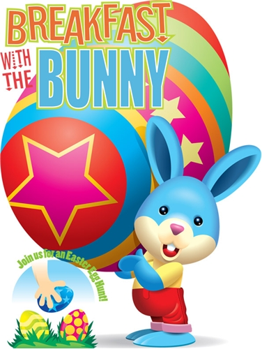 Breakfast with the easter bunny at safari champ march 26 for Call the easter bunny phone number