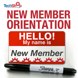 TechShop New Member Orientation