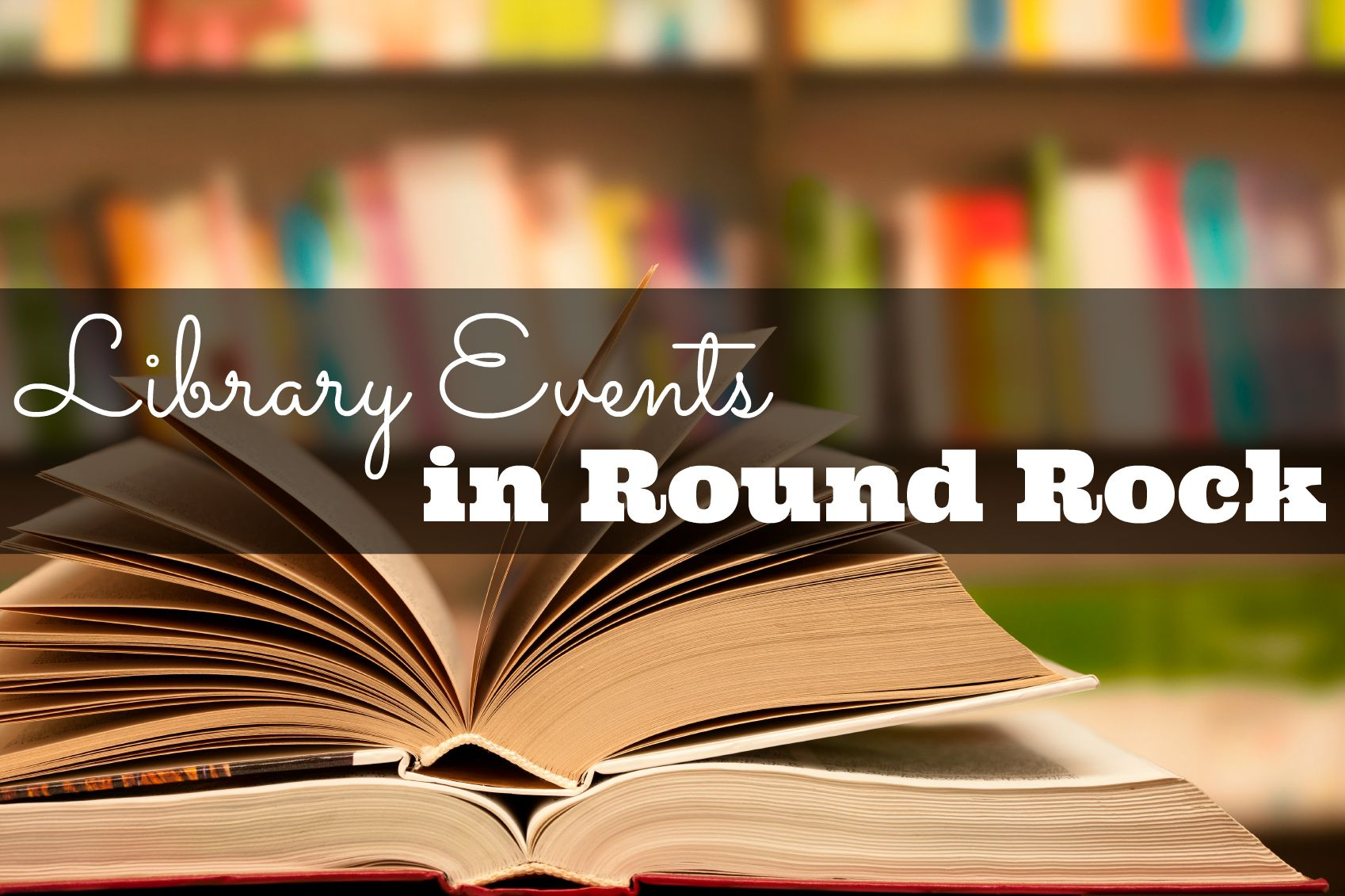 Library Events in Round Rock TX