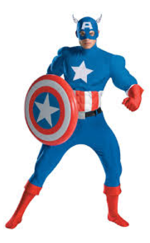 Captain America Doll