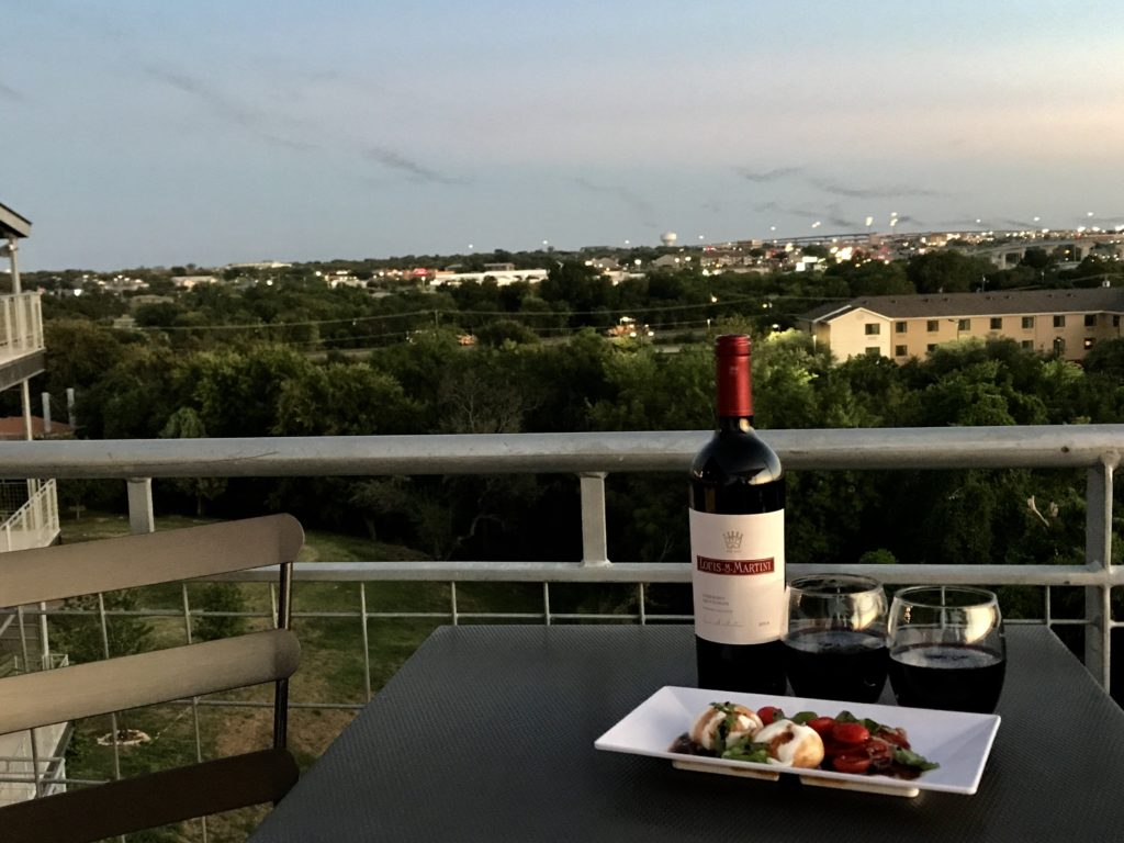 Bats in Round Rock from The Rooftop at URBAN