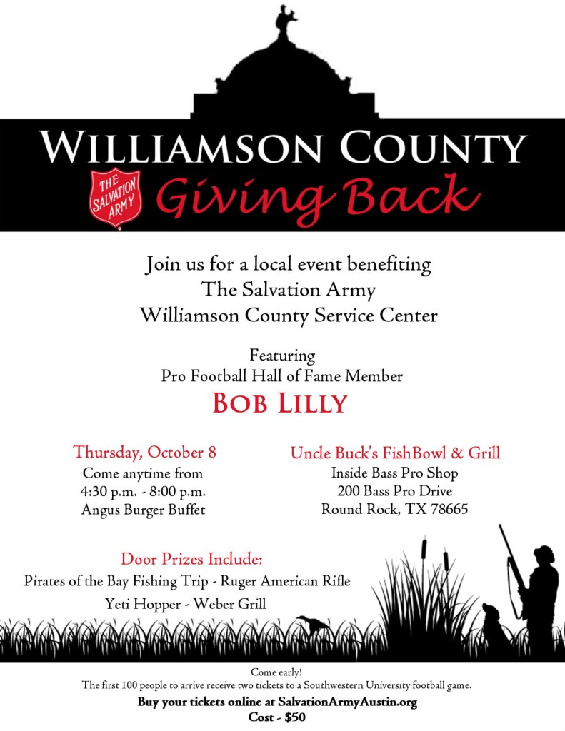 Williamson County Giving Back
