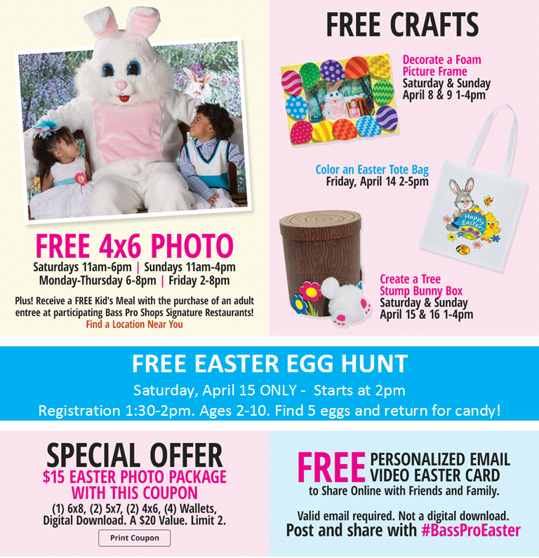 Easter Events at Bass Pro Shops