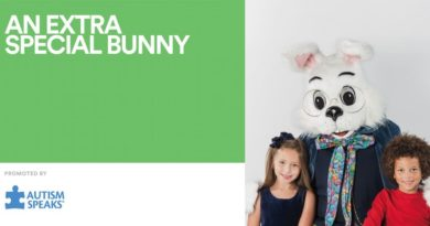 Caring Bunny at the Round Rock Premium Outlets