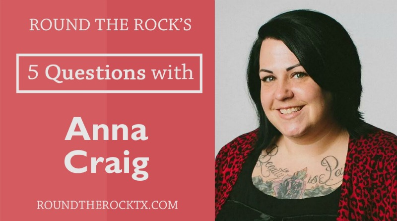 5 Questions with Anna Craig