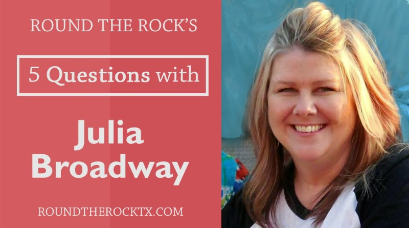 5 Questions with Julia Broadway