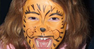 Face Painting with GlitteRee at Safari Champ
