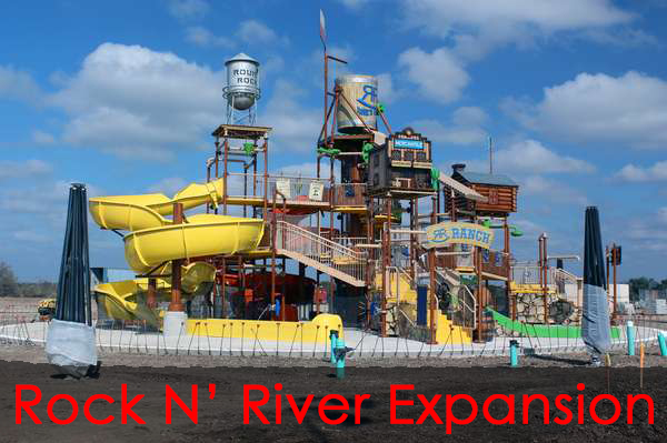 Rock N' River Water Park Expansion