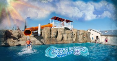 Rock N' River Water Park Dedication