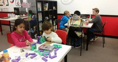 Mathnasium Game Day at the Library