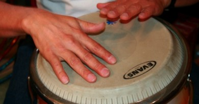 Percussion Things: Comedy and storytelling