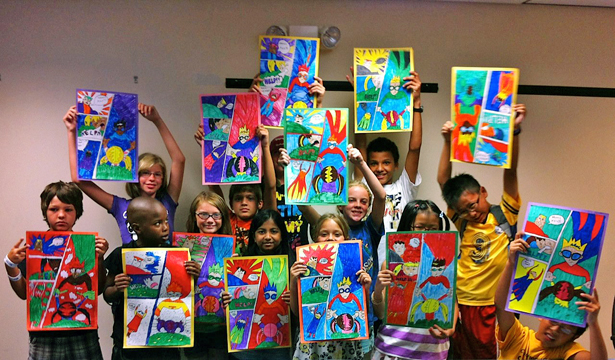 Rockin' Kids Club: Art Club