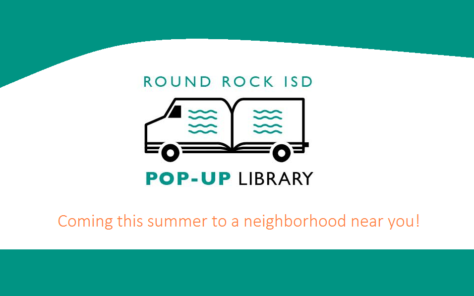 RRISD Summer Pop-Up Library