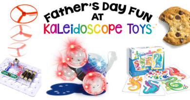 Father's Day Fun at Kaleidoscope Toys