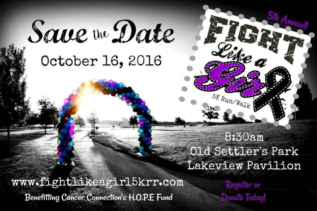5th annual Fight Like a Girl 5K
