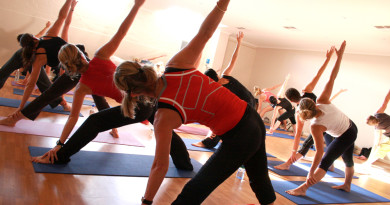 Power Yoga at the Library