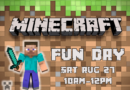 Minecraft Fun Day at Kaleidoscope Toys | August 27, 2016
