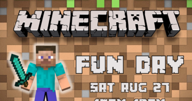 Minecraft Fun Day at Kaleidoscope Toys