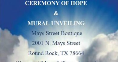 Ceremony of Hope and Mural Unveiling