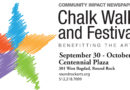 Chalk Walk and Festival Benefiting the Arts | September 30 – October 1,  2016 |