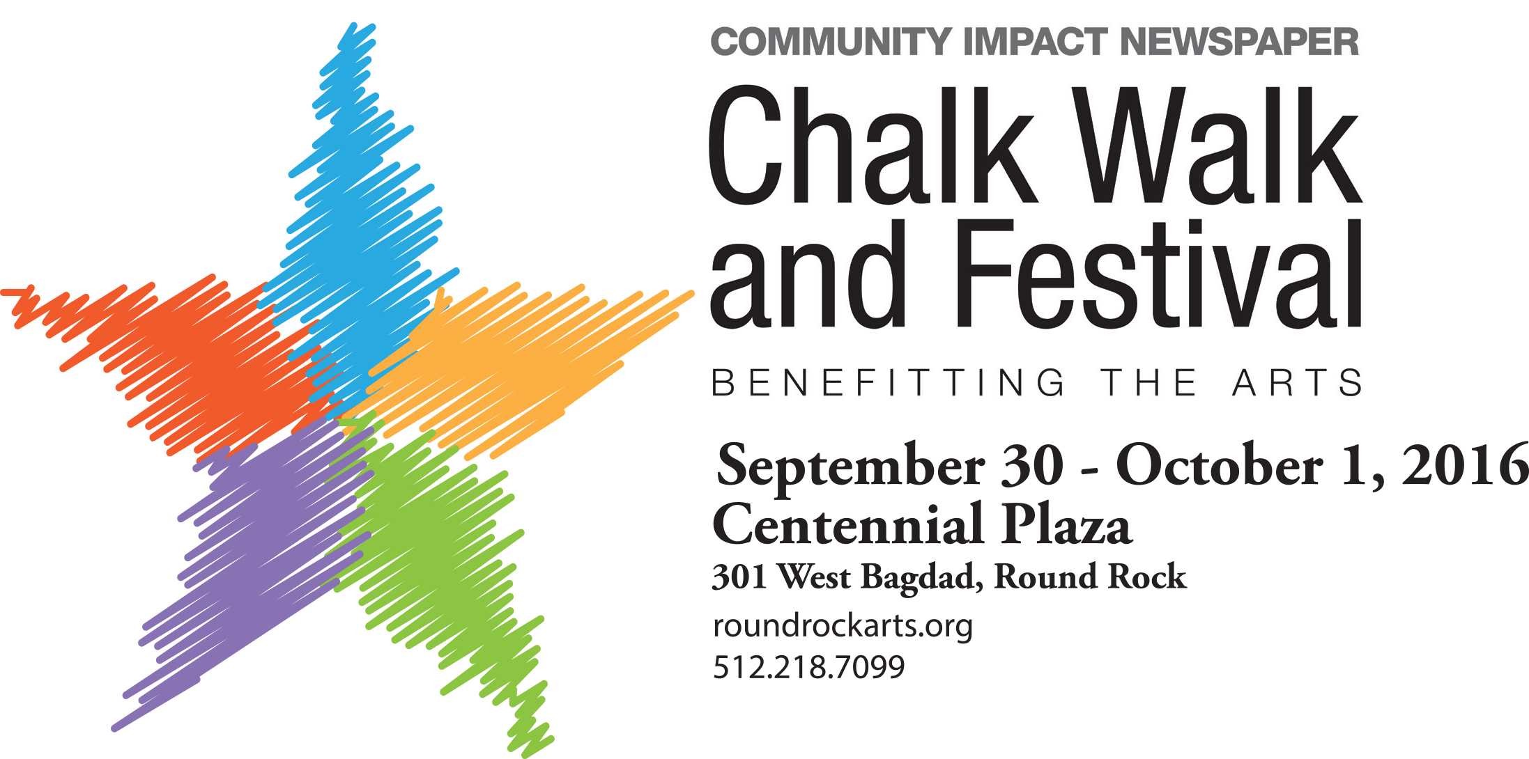 Chalk Walk 2016 with Community Impact