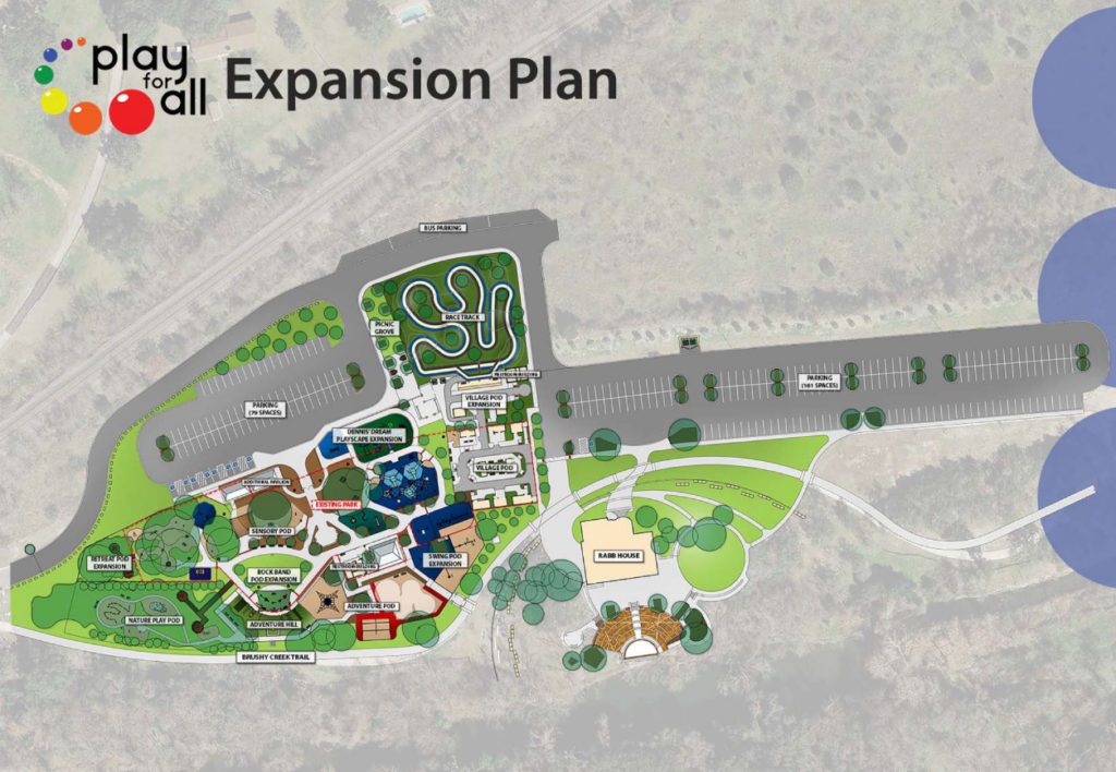 City of Round Rock and Play For All Foundation Announce Plans to Expand Play for All Park