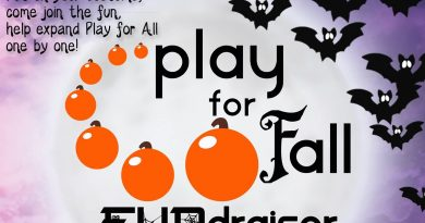 Play for Fall Fundraising Event   October 26, 2018