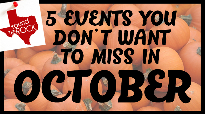 5 Events You Don't Want to Miss in October