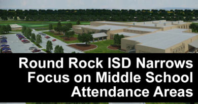Interactive Map for RRISD Middle School Boundary Changes