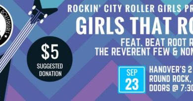 Rockin City Rollergirls presents Girls That Rock!