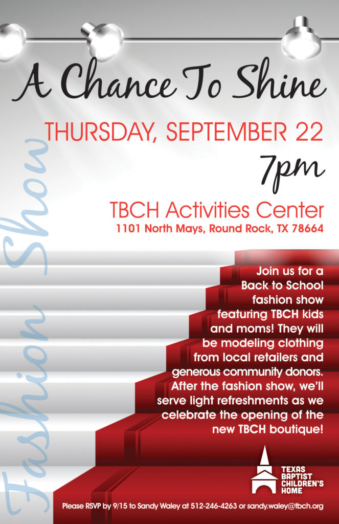 TBCH Back to School Fashion Show