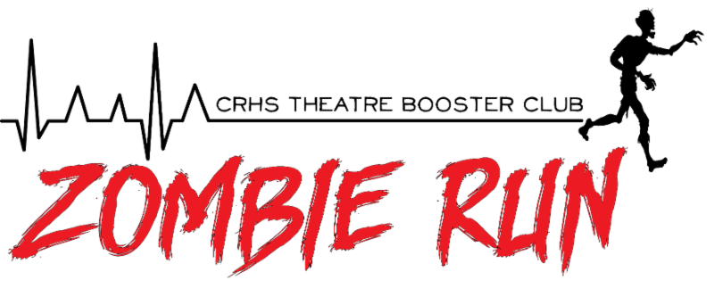 CRHS Theatre Booster Club hosts First Annual Zombie Run 5K