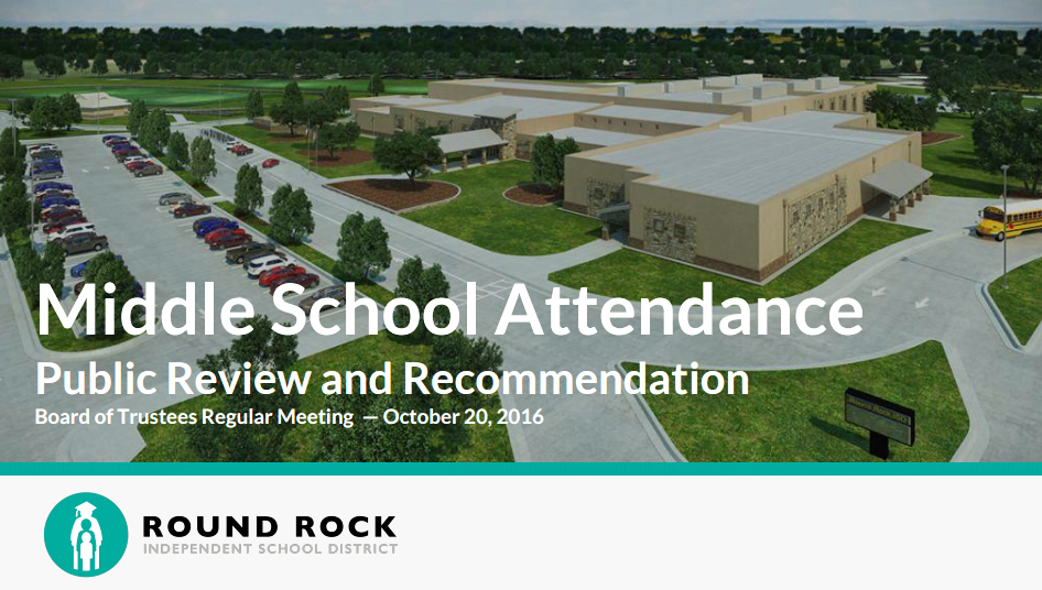 RRISD Releases Updated Middle School Boundary Proposal