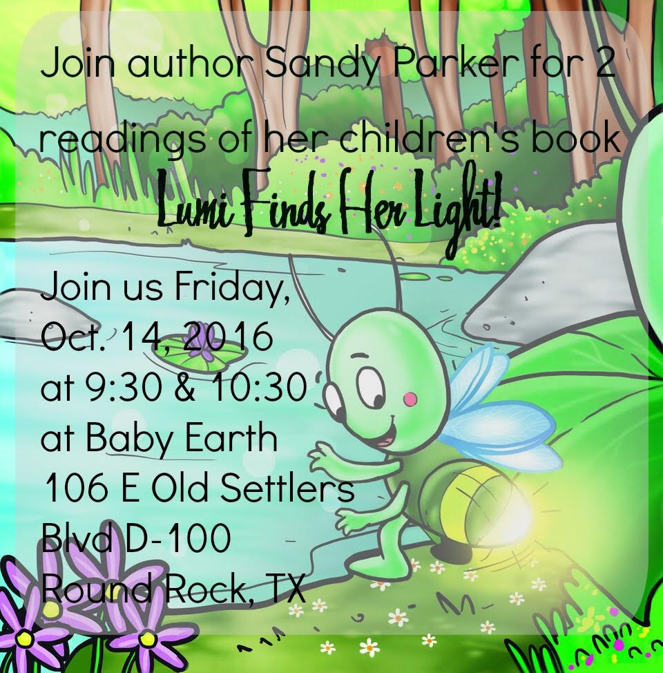 Local Author Reading at BabyEarth