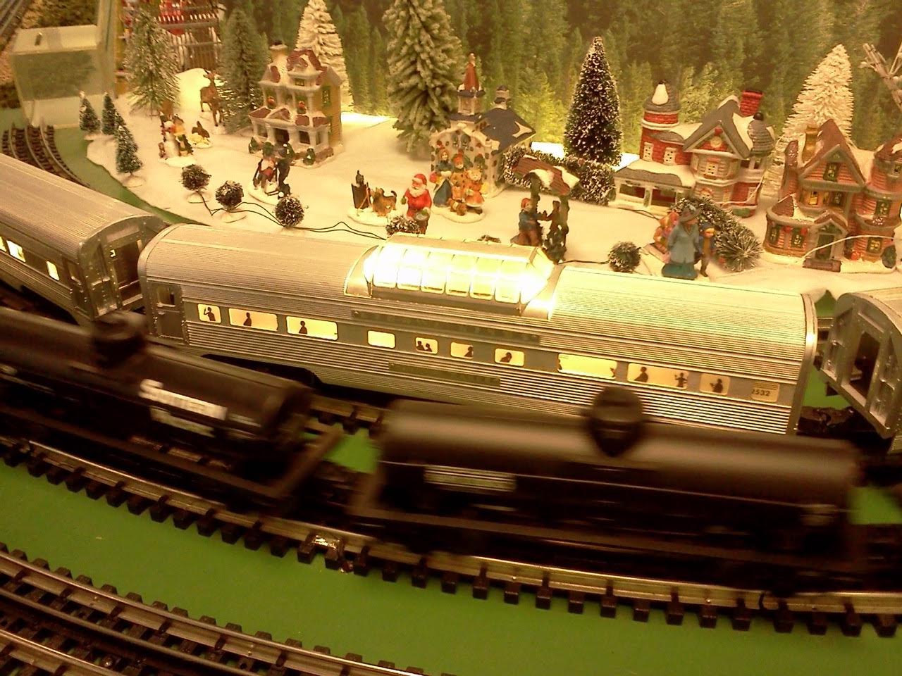 6th Annual Holiday Model Train Show in ArtSpace