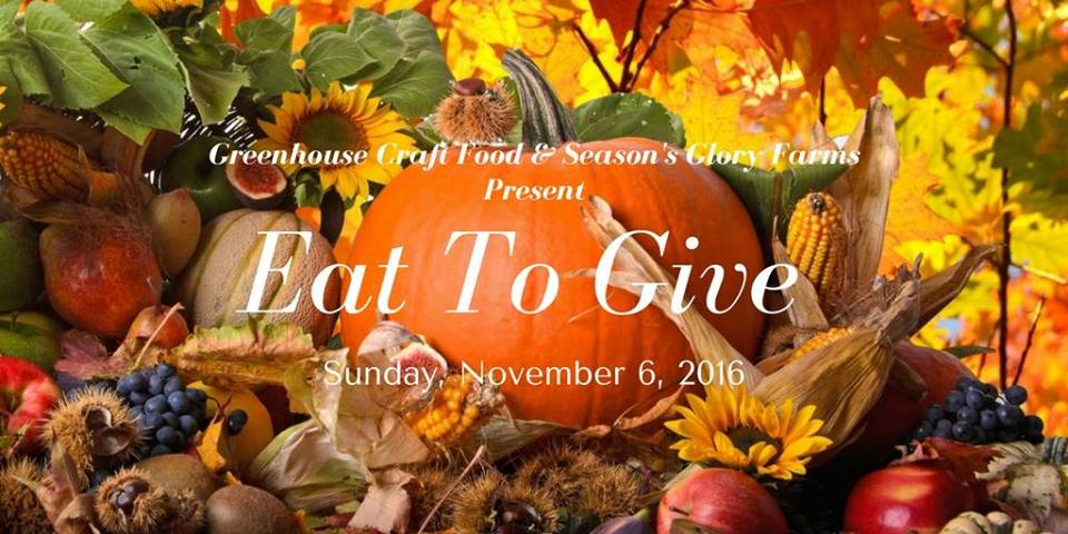 Eat to Give Event at Greenhouse Craft Foods