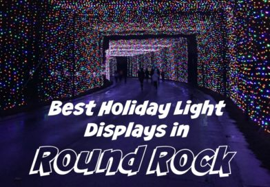 Holiday Lights in Round Rock {And North Austin}