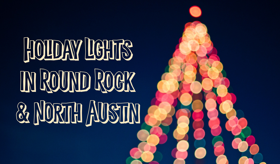 holiday lights in round rock north austin - Rock Christmas