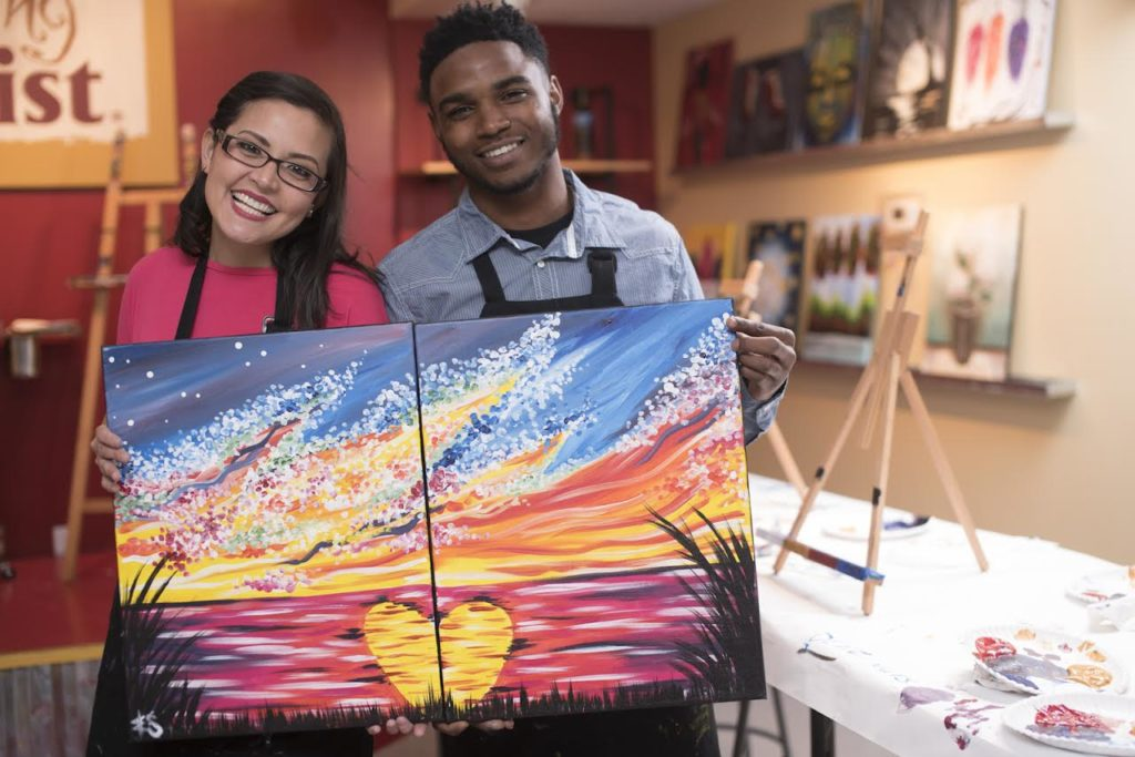 Round Rock Date Nights - Painting With a Twist