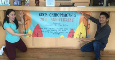 Rock Chiropractic 20th Anniversary Celebration