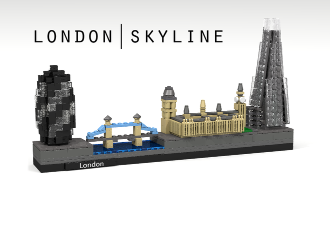 LEGO Skyline London Chicago Event At Barnes Noble