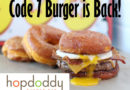 Round Rock Donut Burger is Back at HopDoddy for a Limited Time