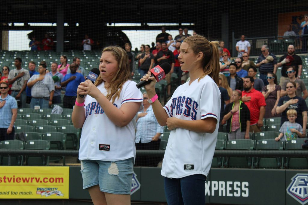 Round Rock Express National Anthem Auditions