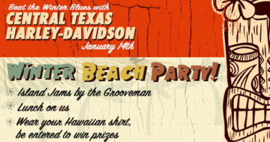 Central Texas Harley-Davidson hosts Winter Beach Party
